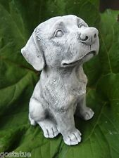 """Latex dog mold with plastic backup concrete plaster mould  6""""H x 3"""" W"""