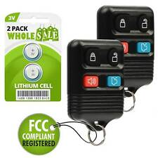 2 Replacement For 2006 2007 2008 2009 2010 Ford Focus Key Fob Remote