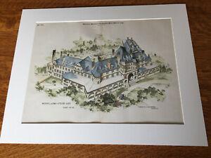 Hotel, Big Stone Gap, Wise County, VA, 1898, Hand Colored Original