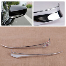 Chrome Plated ABS Rearview Mirror Cover Trim Fit for Mazda 6 Atenza 2014-2017