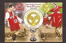 Jersey 2005 Centenary of Jersy Football m/s MNH