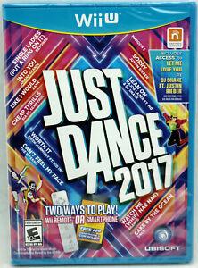 WiiU Just Dance 2017 Nintendo NTSC Wii U (NOT Wii) Music & Dance Factory Sealed