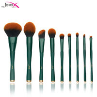 Jessup Makeup Brush Set Blending Brush Face Powder Blush Foundation Cosmetic Kit