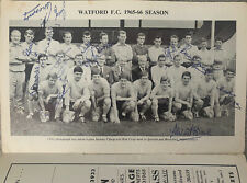 More details for watford v hull city 1965/66 with many signatures