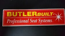Butlerbuilt Professional Seat Systems Decals