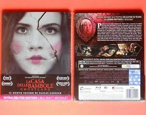la casa delle bambole ghostland blu ray steelbook metal box limited edition rare