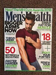 Men`s Health Magazine- October 2018 - New and Unread