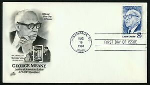 #2848 29c George Meany, Art Craft FDC ANY 5=