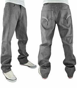 Rocawear Men's ROC-77 Core Succeed Loose Fit Denim Jeans, New Time Is Money Era