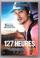 DVD / 127 HEURES - JAMES FRANCO , 6 OSCARS MEILLEUR FILM DANNY BOYLE