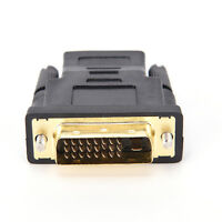 DVI-D 24+1 pin male to HDMI female M-F adapter converter for HDTV LCD monitor _7