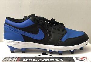 "Air Jordan 1 TD Low ""Royal"" AV5292-041 Men's Size 8 Football Cleats"