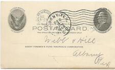 Postal Card 1906- San Francisco, CA- Firemen's Fund Insurance Corp.