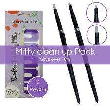 Nail Art Brush Set Ultimate Clean Up Pack by Mitty