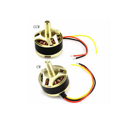 2Pcs Brushless Motor CW/CCW Repair Spare Parts for RC Quadcopter Hubsan H501S