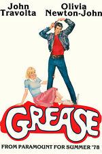 Grease Olivia Newton-John Travolta 11x17 Mini Poster