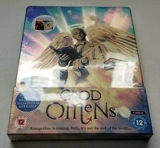 Good Omens - Season 1 w/ Steelbook (Blu-ray, 2 Discs, Region Free) *NEW/SEALED*