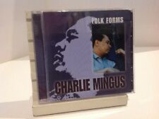 Cd. Charlie Mingus. Folk Forms. Jazz Composer Bass. 50s- 60s American