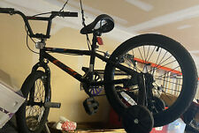 Mongoose Switch Bmx Bike for Kids, 18-Inch Wheels, Includes Removable Training W