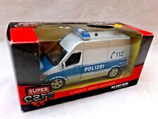 """JOHNTOY Lights and Sounds 5"""" Diecast Polizei (Police) Van Netherlands MIB"""