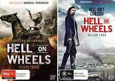 HELL ON WHEELS Seasons 3 & 4 : NEW DVD