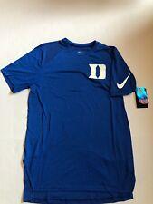 f5fd331b5 Nike Short Sleeve Dri-fit 2017 Duke Blue Devils Basketball Shooter Shirts  Med