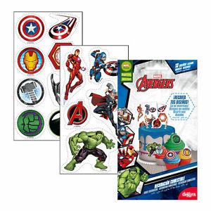 Dekora - 231349 Zuckerfreies Marvel Avengers Esspapier für Geburtstagskuchen