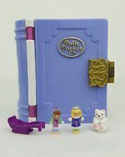 Vintage Polly Pocket Sparkle Snowland winter Wonderland 99%Complete excellent