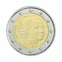 """Finland 2 Euro commemorative coin 2020 """"Vaino Linna"""" - UNC ***NEW***"""