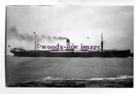 c1133 - Harrison Line Cargo Ship - Collegian - photograph by Duncan