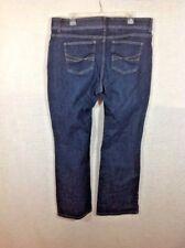 Lee No Gap Waist Band Jeans 18 Medium 1% spandex stretch blue boot cut flare