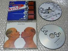 hide with spread beaver 2CD single pink spider & ever free maxi type  / X JAPAN