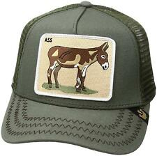 Goorin Bros. Animal Farm Trucker Snapback Baseball Hat Cap Ass Donkey Green