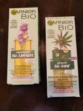 Garnier Bio Öle Lavendel für Tag und Hanföl für Nachts