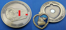 TITANIC Heart of the Ocean Removable Pendant Antique Bronze Coin Rose Nude Ship