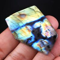 Top Natural Multi Purple Labradorite Rock Rough Slab Cabochon Gemstone CG-100