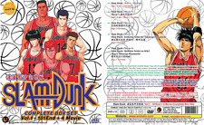 DVD ANIME SLAM DUNK Vol.1-101 End + 4 Movie Complete Series Eng Subs +FREE ANIME