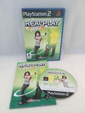 Sony Playstation 2 PS2 - Realplay Golf
