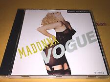 MADONNA single VOGUE 4 track CD bette davis dub shep pettibone junior vasquez