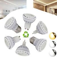 Dimmable LED Spot Light Bulbs GU10 MR16 E26 E27 Spotlight Bulb SMD 9W Home Lamps