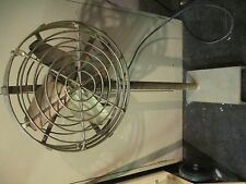 "Antique Vintage General Electric fan motor 12"" Pedestal / Parlor FLOOR FAN"