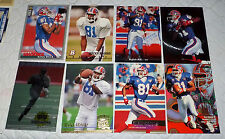 BUCKY BROOKS 8 Card Assorted Lot Including a Rookie - 723