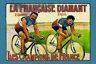 Champions de la Francia Bicicleta Letrero Metal Cartel Lata 20 X 30cm CC0882