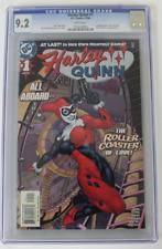 CGC GRADED 9.2 NM-, HARLEY QUINN #1 (2000), Joker , Poison Ivy App.