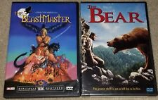 Beastmaster (Anchor Bay) Liner Notes & Sketch Booklet included & The Bear DVD