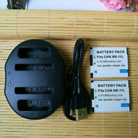 Battery or Charger For Canon PowerShot NB-11L/11LH SX400 IS ELPH 340 HS 320 HS