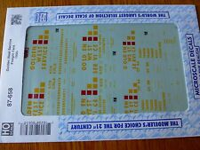 Microscale Decal HO  #87-658 GWS Freight Car - Assorted Dates:1990+