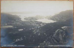 1919 Realphoto: BERGEN-Fra Ulrikken, Hordaland - Norway