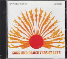 SONS AND DAUGHTERS OF LIFE - let the sun shine in CD