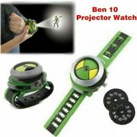BEN 10 Ten Projector Watch Alien Force Omnitrix Illumintator Bracelet Kid's Toys